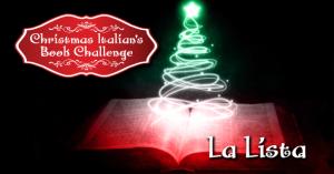 Christmas Italian's Book Challenge: La mia Lista
